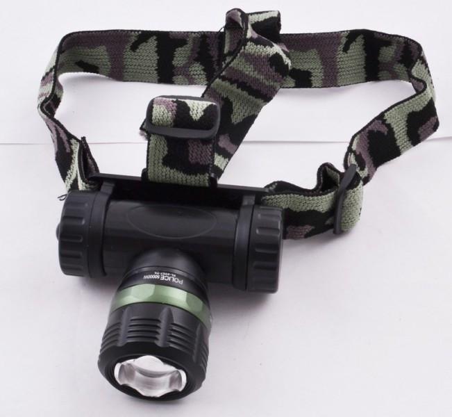 Ультрафиолетовый налобный фонарь Police BL-6957
