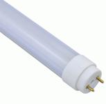 Светодиодная трубка Т8 9Вт 60 см 900lm 6500К холодный белый матовый 135º  нано пластик