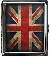 Оригинальный портсигар для сигарет GREAT BRITAIN FLAG  ДевайсМейкер