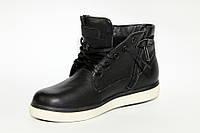 Ботинки подростковые кожаные / Teenager's boots leather