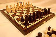 Сувенирный набор шахматы шашки 30 см