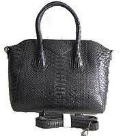 Сумка черная Givenchy Живанши рептилия среднего размера