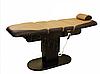 Массажный стол ZD-869 с з-мя электроприводами, цвет-кофе с молоком, фото 2