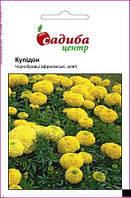 Семена Бархатцы Купидон, желтые 0,2 г СЦ
