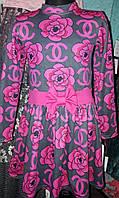 Стильное платье на девочку Шанель