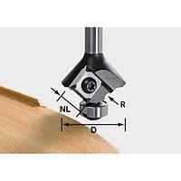 Скругляющая фреза HW со сменными ножами S8 HW R2 D28 KL12,7OFK Festool 499809