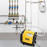 REMS Мульти-Пуш  Электронное устройство для промывки и проверки под давлением с компрессором
