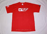 Футболка FLY Racing красная. Размер M.
