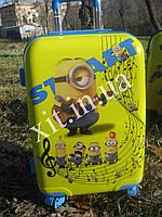 """Детский чемодан 20"""" на 4 колесах Minion"""