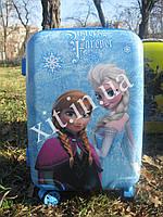 """Детский чемодан 18"""" на 4 колесах Frozen"""