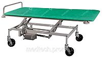Тележка ТПБЕ для транспортировки пациентов с регулировкой высоты, электроприводом и автономным питанием