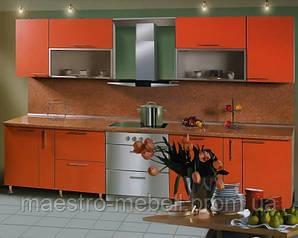 Кухня с фасадами из ДСП