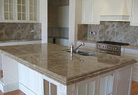 Столешницы для кухни из натурального камня (мрамор,гранит)