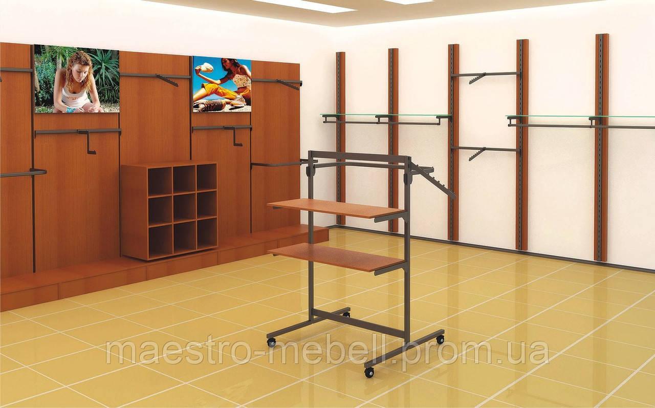 9cfd87dd0ff Торговое оборудование для магазина одежды Витрины торговые