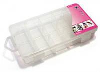 Органайзер для мелкой фурнитуры,24 отделения,пластик,35,4*21,9*4,5 см