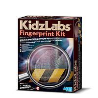 Детская лаборатория. Набор для снятия отпечатков пальцев