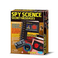 Детская лаборатория. Набор шпиона. Секретные сообщения.
