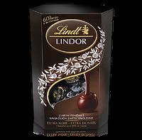 Шоколадные конфеты Lindt Lindor Cornet Extra Dark 60% какао, 200 гр., фото 1