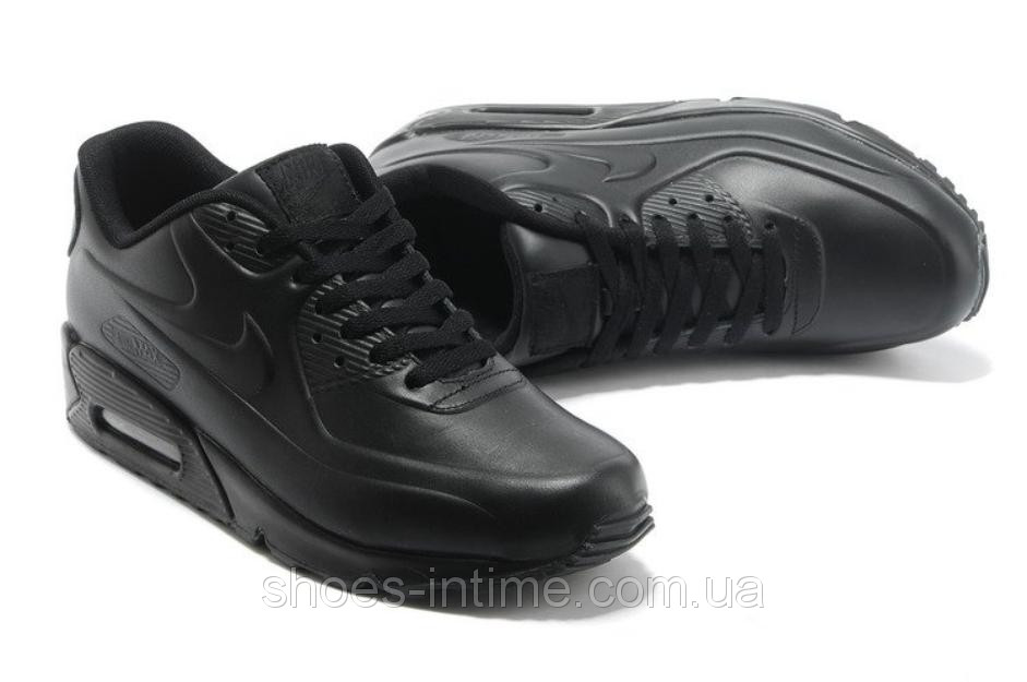 Мужские кроссовки Nike Air Max VT 90 черные кожаные - Shoes-intime в  Харькове 6977aef238b