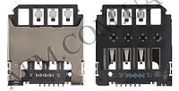 Конектор Sim Samsung G130E/  G313H/  G313HN/  G313HU/  S7390