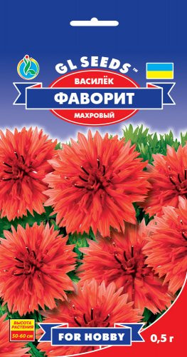 Семена Василек Фаворит махровая 0,5 г For Hobby