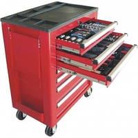 Ящик для инструментов + 217шт. инструментов Airpress