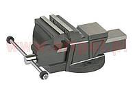Тиски слесарные ARTPOL 125 мм с наковальней чугунные