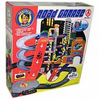 Многоуровневый паркинг Road garage со звуковыми эффектами 922-7