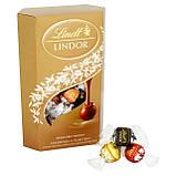 Шоколадные конфеты Lindt Lindor Cornet Assorted ассорти вкусов, 200 гр., фото 4