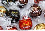 Шоколадные конфеты Lindt Lindor Cornet Assorted ассорти вкусов, 200 гр., фото 2