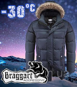 Стильная мужская зимняя куртка Braggart