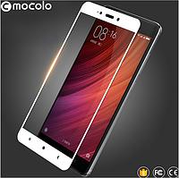 Стекло MOCOLO Xiaomi Redmi 4 Pro На весь экран!!! С рамкой!!!
