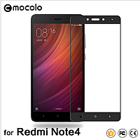 Стекло MOCOLO Xiaomi Redmi Note 4 На весь экран!!! С рамкой!!!