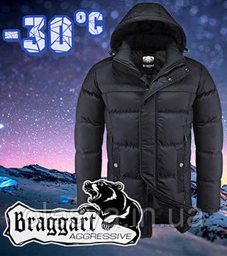 Мужская куртка для зимы оригинальная Braggart размеры 48 -54