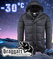 Оригинальная теплая мужская куртка для зимы Braggart размер 48- 54, фото 1