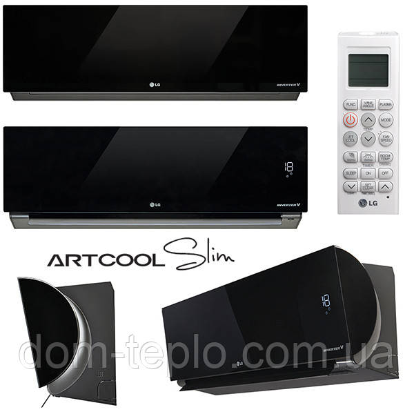 Кондиционер бытовой инверторный LG ARTCOOL SLIM CA09RWK/CA09UWK