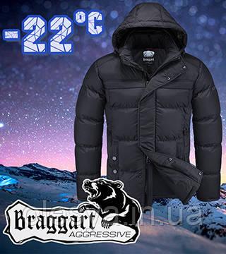 Мужская куртка молодежная зимняя Braggart