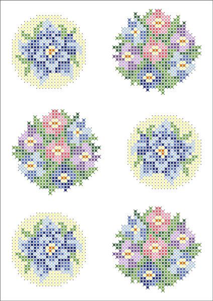 ФВМ-010. Схема для вишивки бісером на водорозчинному флізеліні