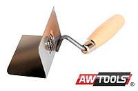 Шпатель стальной AWTOOLS угловая диаметр 60 х 80 мм