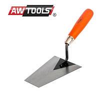 Шпатель трапециевидный AWTOOLS отшлифовать 180мм ручка деревянная