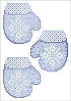 ФВМ-12. Схема на водорозчинному флізеліні