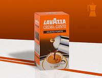 Кофе  Lavazza Crema e Gusto Forte Quattro
