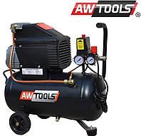 Компрессор AWTOOLS fl-50л производительность-250л/мин.. бак 50л
