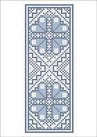 ФВМ-19. Схема на водорозчинному флізеліні