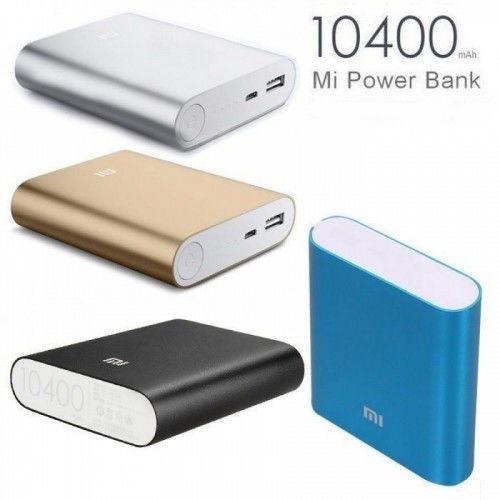 Внешний аккумулятор зарядка универсальная Power Bank XiaoMi 10400mAh Павер банк + бокс