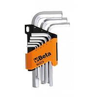 Шестигранные ключи/головки 9 шт. 1,5-2-2,5-3-4-5-6-8-10 мм BETA