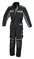 Костюм рабочий с несколькими карманами, черно-серый 7825 – размер s BETA