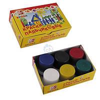 Краски пальчиковые 6цв 351121