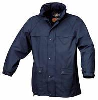 Куртка 7979 из материала пвх, водонепроницаемая (синяя) – размер м BETA