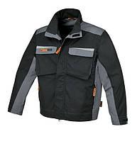 Куртка рабочая BETA 7829, выполнена из ткани t/c 280 г/м2 (черно-серая) – размер l BETA